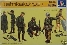 Italeri 1/35 Africa Corps German Soldier Figures 304