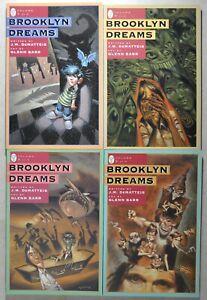 BROOKLYN DREAMS -J.M. Dematteis - Art by Glenn Barr - volumes 1-4