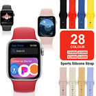 Silicone Band Strap for Apple Watch Sports Series 6 5 4 3 2 1 SE 38/40/42/44mm