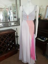 WITCHERY Silk Maxi Dress - Sz10.Fully lined. Exc cond