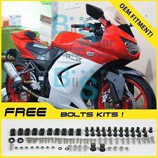 Red Fairings + Tank Cover Fit Kawasaki Ninja 250R EX250 09 10 11 08-12 91 QQ