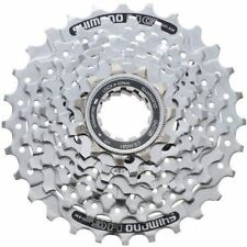 Shimano HG 51 - 8 Speed Bicycle Cycle Cassette 11-30 T Silver MTB and Road Bike