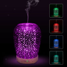 Air Diffuser LED Nightlight 7 Color Changing Oil Aroma Essential Diffuser AU