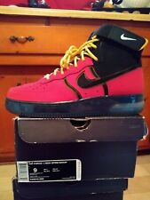 Air Force 1 Supreme Bakin Black Red Yellow DS Size 9