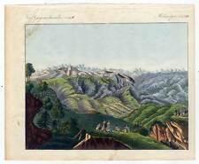 Himalaya-Himalaja-Tibet-Gebirge - Bertuch-Kupferstich 1800