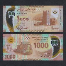MAURITANIA: Banknote of  1,000 OUGUIYA Polymer P-new, UNC ( 2018) Series