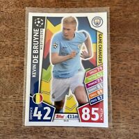 Kevin Du Bruyne ⚽️ 2018 UEFA Champions League Match Attax Game Changers #GC15