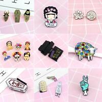 EG/_ New Dialogue Box Book Enamel Button Brooch Pin Badge Women Party Jewelry Uti