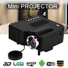 UC28c HD 1080P Mini LED Projector Home Theater Cinema Portable Video Multimedia