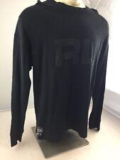 Euc Ralph Lauren Polo Sport Athletic Long sleeve Black Shirt Mens Xl