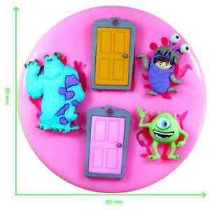 Disney Monsters Inc. Silicone Mould by Fairie Blessings