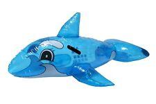Bestway Aufblasbares Schwimmtier Delphin Luftmatratze Wassertier Schwimminsel