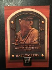 2014 Donruss Hall Worthy #7. Tim Hudson. San Francisco Giants. NM/M