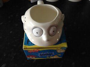 Nickelodeon Rugrats Tommy Figural Mug 1996 Viacom Boxed 3D Mug Cup