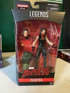 2017 HASBRO--MARVEL LEGENDS SERIES--MARVEL DAREDEVIL--ELEKTRA FIGURE (NEW)