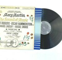 Vintage LP 1959 Sound Of Music Mary Martin Original Broadway Cast Tested