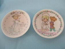 Precious Moments, 2 Mini Collector'S Plates For Mother, The Care Giver & Nurse