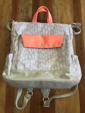Oh Joy Target Diaper Bag Pink Grey Backpack Baby Changing Pad