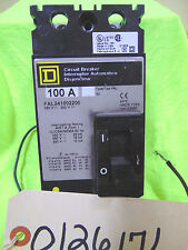 Square D Circuit Breaker Interruptor - 100 Amps. - FAL S2