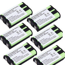 6X Phone Battery For Panasonic KX-TG5436 KX-TG5438 KX-TG5439 KX-TG5451 KX-TG5671