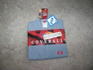 NWT Old Stock, Dickie's Coveralls Size 42 Reg. Grey Color Short Sleeves
