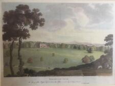1791 Antique Print;  Good size & rare view; Yarlington House, Somerset