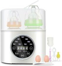Bottle Warmer, Aumio Fast Baby Bottle Warmer and Sterilizer 6-in-1 Baby Food.