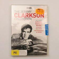 Jeremy Clarkson Collection Extreme Machines - Motorworld - Speed DVD New Sealed