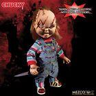Mezco Toys Bride of Chucky: Talking Scarred Chucky Mega Scale Doll Damaged Box