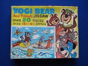 Vintage 80 Piece Jigsaw Puzzle '  Yogi Bear & Friends '   c1968 Topsail