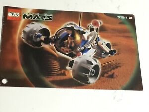Lego #7312, Life On Mars, T3 Trike Instruction Manuel Only