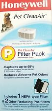 GENUINE Honeywell HRF-CP2, Pet CleanAir Replacement Filter Combo Pack NEW