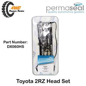 Permaseal Gasket Head Set for Toyota 2RZ Hiace RZH103 RZH113 RZH125 DX060HS