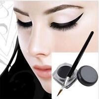 Wholesale Waterproof Black Eye Liner Gel Cream Makeup Cosmetic Eyeliner Brush