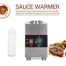 More details for commercial electric single bottle jam sauce warmer 30℃-85℃ stainless steel 80w