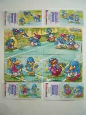 Ü-EI SUPERPUZZLE*1996*BINGO BIRDS*4 ECKEN/4 BPZ & 4 PUZZLEHÜLLEN*