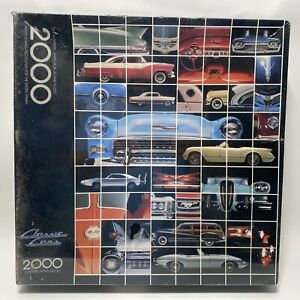 Vintage Springbok CLASSIC CARS by Harv Gariety 2000 Piece Puzzle , NEW, SEALED