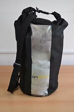 Canoe Camping Dry Bag 20L Heavy Duty Roll Top Sack 600D Nylon With Clear panel