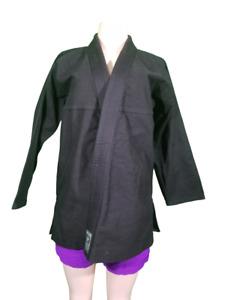 JUDO Karate Martial Arts HEAVY Shirt Black Adult A1 Century Martial Arts Top