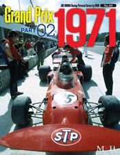 1971 Grand Prix Season #2 Model Factory Hiro Photo reference book Japanese Text