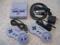 Super SNES Nintendo Entertainment System Mini Classic Edition. 100% Authentic!