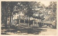 A66/ Mountain Lake Park Maryland Md Photo RPPC Postcard c20s Hotel Building 2