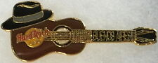 Hard Rock Cafe BUENOS AIRES 1990s Tango Hat on Acoustic Guitar PIN - HRC #13611