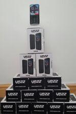 Entièrement neuf dans sa boîte bon marché debloqué Yezz Téléphone mobile Dual SIM + SD Noir-Simple Perfection