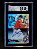 2019 Bowman Chrome Rookie Refractor Auto /499 SP RC Kyle Tucker SGC 10 Pop 1