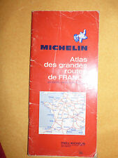 Carte michelin Atlas des grandes routes de france 1974