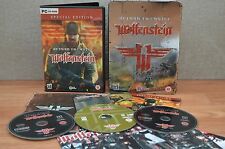 Return to Castle Wolfenstein PC Game Limited Edition Tin Case included