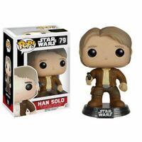Han Solo Star Wars Nuovo POP Funko Vinyl Action Figure The Force Awakens 79