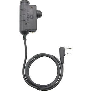 EARMOR Tactical PTT Headphone adapter KENWOOD / Baofeng