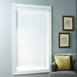 Better Homes & Gardens 2-inch Cordless Faux Wood Blinds, White, Multiple Sizes 5